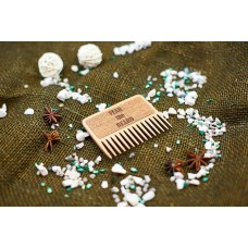 "Wooden beard comb ""Fear the beard"""
