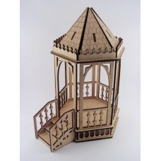 """Constructor """"Garden furniture for dolls"""" made of plywood"""