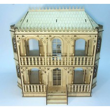 Dollhouse  in Victorian style №3