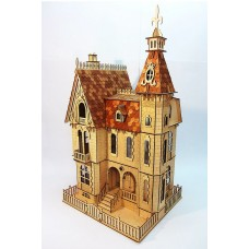 Dollhouse  in Victorian style №5