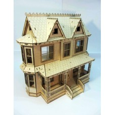 Dollhouse  in Victorian style №4