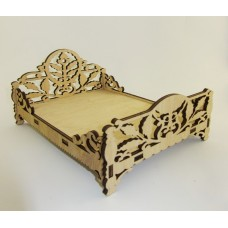 """Constructor """"Bed"""" for dolls of plywood"""