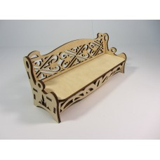 """Constructor """"Bench"""" for dolls of plywood"""