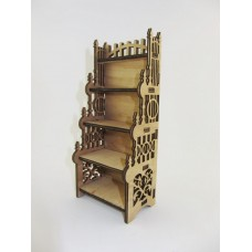"""Constructor """"Bookcase"""" for dolls of plywood"""