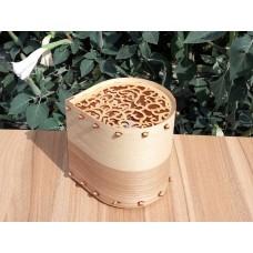"Lamp-night lamp ""Drop"" from natural veneer and plywood"