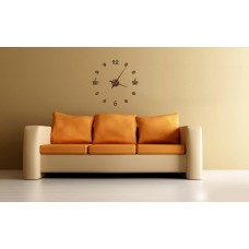 "Wall clock ""Coffee"" 70 см diameter.  Arrows 30 cm."