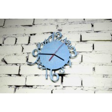 "Wall clock ""Alice"" 30 cm in diameter."