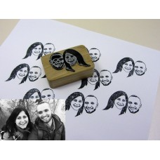 Production of individual stamps for your photos and pictures (2 photos)
