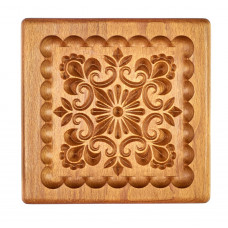 Gingerbread board Pattern # 2 13*13см  for forming a printed gingerbread.