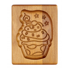 Gingerbread board Cake 14 * 10 * 2cm for forming a printed gingerbread.