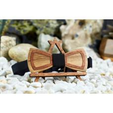 Men's bow-tie, neckline for men