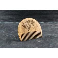 """Wooden beard comb """"Game of Thrones """""""