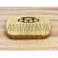 """Wooden comb for beard """"Knuckles"""" with magnets"""