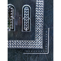 Pattern - acrylic template. 4mm marking step for cutting bags, wallets and other products