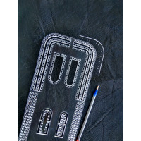 Pattern - acrylic template.  6 mm marking step for cutting bags, wallets and other products