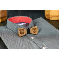 Tie butterfly engraving Transformer on the neck for men's shirts